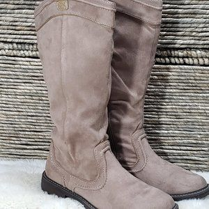 """R2 """"Dayna"""" Faux Suede Boots Women's Size 8.5"""
